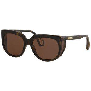 Gucci Women's Havana Square Sunglasses 57mm